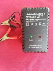 6 Volt Automatik Ladegerät nur
