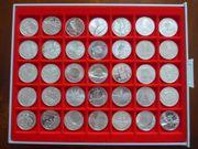 Silber - Silber - Ein Satz 10EUR