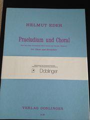 Noten für Oboe und Streicher