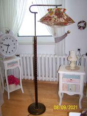 Antik Vintage Stehlampe Stehleuchte DDR