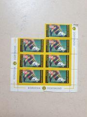 7 Borussia Dortmund Briefmarken
