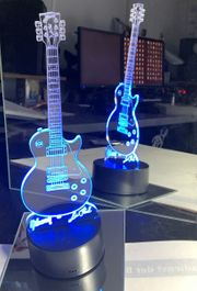 GIBSON Les Paul Gitarre LED