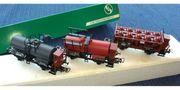 Spur H0 - Dampf-Lok und spez
