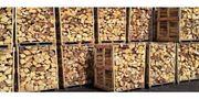 Brennholz gespalten