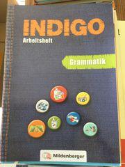 Indigo Arbeitsheft Grammatik von Mildenberger