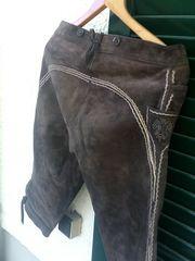 Trachten-Lederhose 3 4 lang ohne