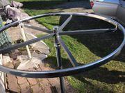 Runder Stabiler Kleiderständer 100cm Durchmesser