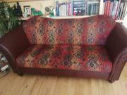 Sofa Stoff 2er und Sessel
