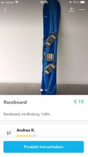 Raceboard mit Bindung 1 60