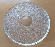 schöne Kuchenplatte Glas - massive gute