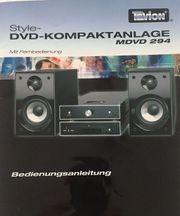 Kompaktanlage MDVD 294 DV reduziertem