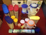 21 Teile Tupperwaren Behälter