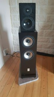 Sonics Allegra High-End-Tower-Lautsprecher letzte Version