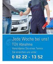 Kfz Auto Reparatur TÜV Kundendienst