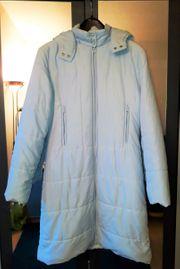 Damen Wintermantel hellblau Gr 36