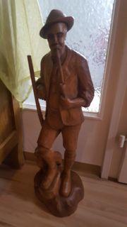 Holzfigur Skulptur