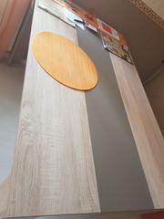 Neuwertiger großer Esstisch in Sonoma-Eiche