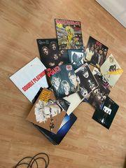 verschieden LPs Heavy Metal Rock