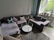 Schöne Couch U Form