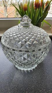Glasschale Kristalloptik
