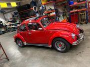 VW Käfer mit Faltdach
