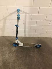 SCOOTER Oxelo KINDER Weiss Blau