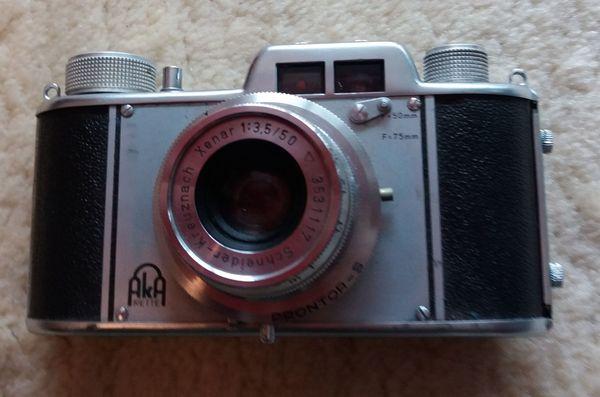 AkA Akarette II Kamera inkl