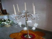 Eleganter hoher Kerzenständer