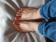 Schöne Füße zum anfassen
