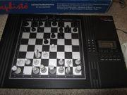 Schachcomputer Mephisto Schachakademie mit Netzteil
