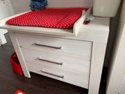 Paidi Meer Kinderzimmer - Bett Wickelkommode