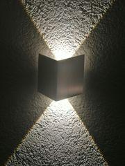 Moderne LED-Wandleuchte