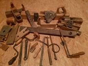 altes antikes Werkzeug Zimmermann Schreiner