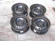 4-STAHLFELGEN-BMW--7J-16--LK5x120--ET31--1er-3er--USW--NP 240 --FP 80 --