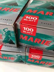 Marie Blättchen Papier 25x100 Blatt