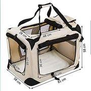 Faltbare Transportbox für Hunde und