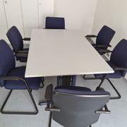 Neuwertige Büromöbel zu verkaufen - KOMPLETTPREIS