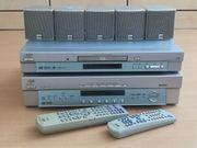 JVC Dolby Heimkino Musik Anlage