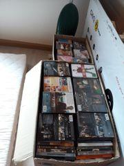 cds und DVDs zu verkaufen