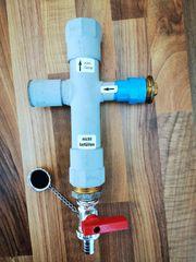 Kalkfilter für Heizungsanlagen mit Warmwasserzirkulation