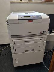 OKI C801dn Farblaserdrucker A3 Duplex
