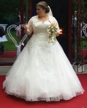 bridalstar becky Brautkleid Größe 54