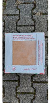 Terracotta Fliese Restbestand