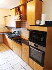 Küche mit Elektrogeräten zu verkaufen