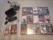 PSP mit Spielen
