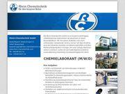 Chemielaborant m w d 0