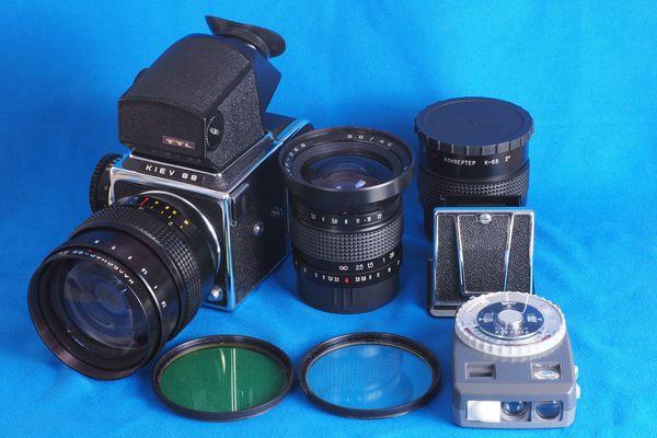 Kiev 88 6x6 Spiegelreflex Kamera Portraitfotografie analog