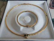 Collier und Armband Gold 750