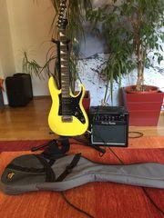 E-Gitarre 3 4 Ibanez Mikro