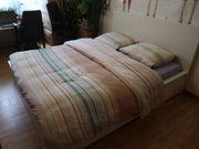 Malm Bett 160x200 weiß mit